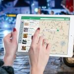 Nawigacja GPS w tablecie
