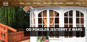 Strona WWW - Altany ogrodowe
