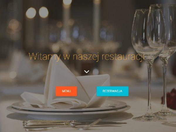 Responsywna strona restauracji – demo48