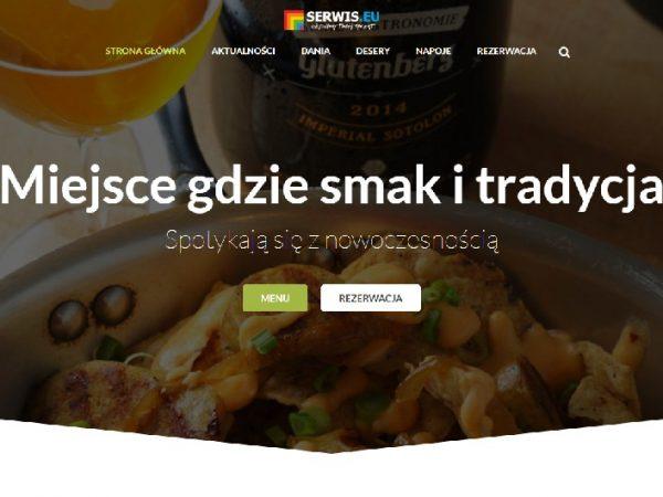 Responsywna strona restauracji – demo50