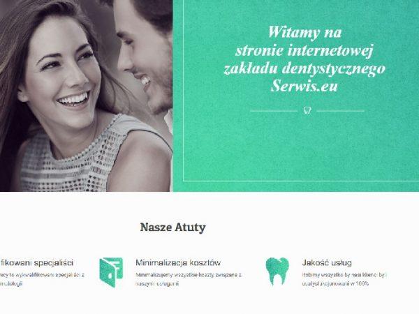 Responsywna strona zakładu stomatologicznego – demo51
