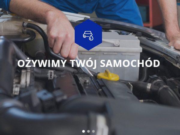 Responsywna strona warsztatu samochodowego – demo54