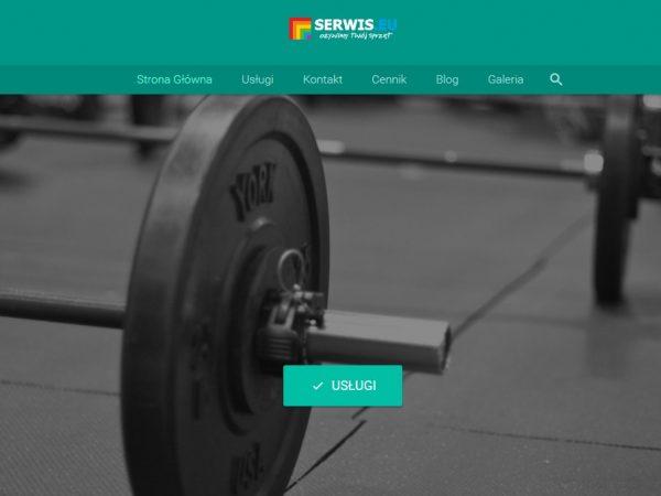 Responsywna strona siłowni i klubu fitness – demo61