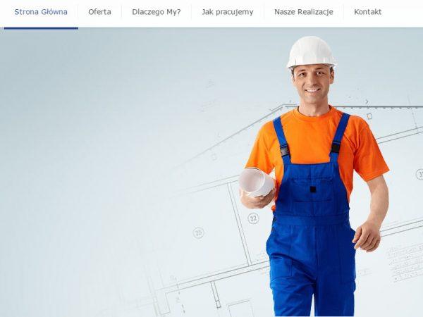 Responsywna strona ekipy remontowej – demo63