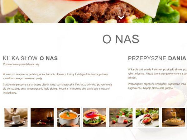 Responsywna strona restauracji – demo67