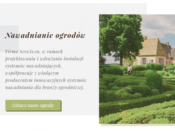 Responsywna strona firmy projektującej ogrody – demo70