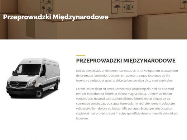 Responsywna strona firmy przeprowadzkowej- demo 73