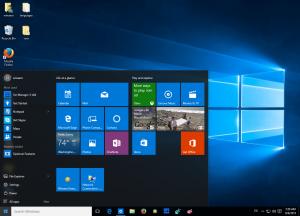 Windows 10 menu startowe