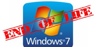 Koniec Windows 7